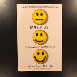 Other - ADD ON ITEM Happy at last book by Richard O'Connor